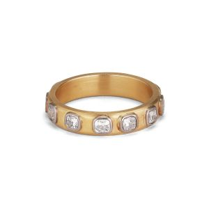 Square Diamond Dream, 18 carat gold