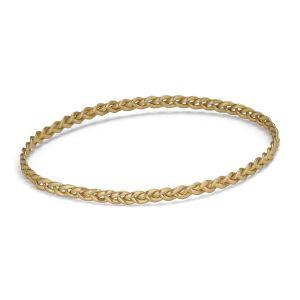 Braided Bracelet, 18 carat gold