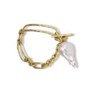 Pearl Bridle Bracelet, 18 carat gold