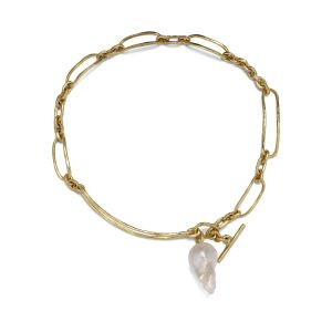 Pearl Bridle Necklace, 18 carat gold