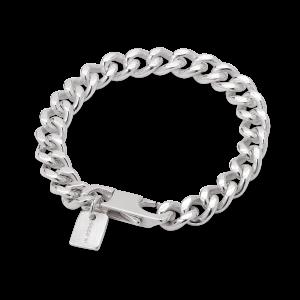 F+E Chain Bracelet, sterling silver