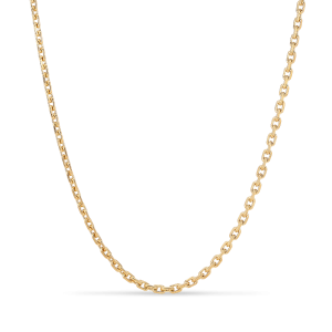 F+E Chain Necklace, gold-plated sterling silver
