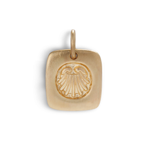 Salon Pendant, gold-plated sterling silver
