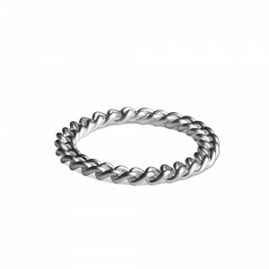 Big Chain Ring, sterling silver