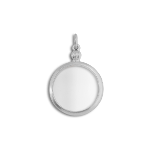Souvenir Medallion, Sterling silver