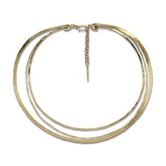 Exclusive Wire Choker, 18 carat gold