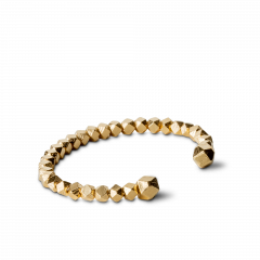Chunky Bead Bracelet, gold-plated sterling silver