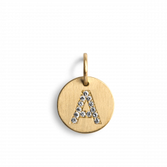Lovetag Pendant with Diamonds