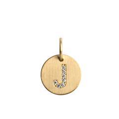 Lovetag Pendant with Diamonds, 18-carat gold