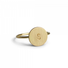 Lovetag Ring, 18 karat gold