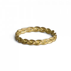 Small Braided Ring