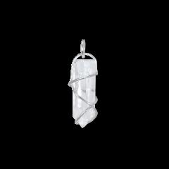 F+E Crystal Pendant, Sterling silver
