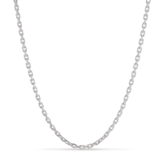 F+E Chain Necklace, sterling silver