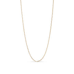 Stretched Anchor Chain, gold-plated sterling silver