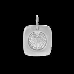 Salon Pendant, sterling silver