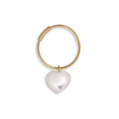 Souvenir Hoop, gold-plated sterling silver